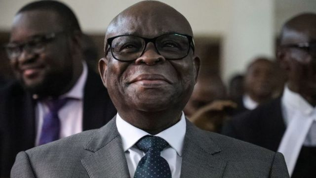 Suspended Chief Justice of Nigeria Walter Onnoghen