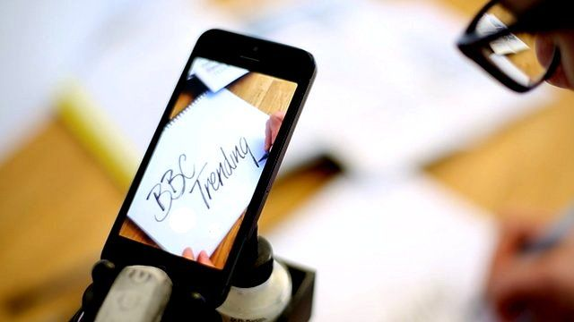 Calligraphy in the digital age