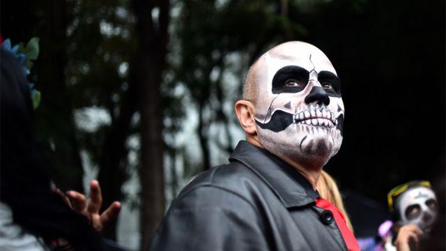 Celebración del día de los muertos en México