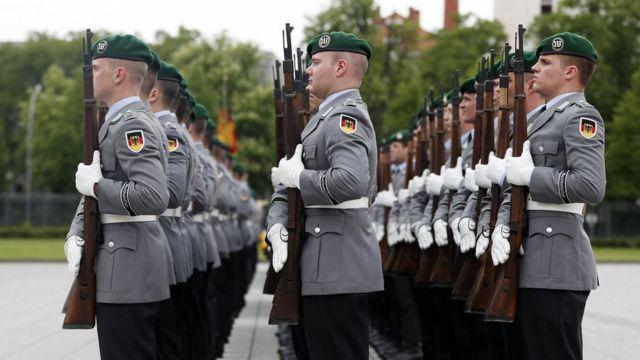 Un batallón de la Bundeswehr, en Alemania