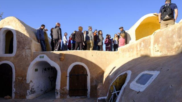 Posetioci u Tunisu odlaze da vide lokacije gde su se snimale scene iz Ratova zvezda