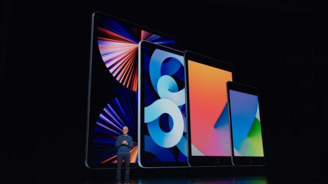 Quatre iPad