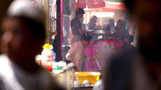 El mercado de Balkh.
