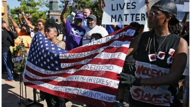 """Протесты движения """"Жизни черных важны"""" проходят в разных городах ежедневно"""