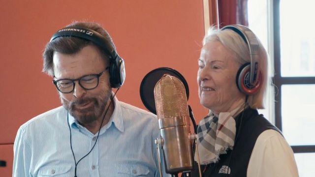 Abba in the studio