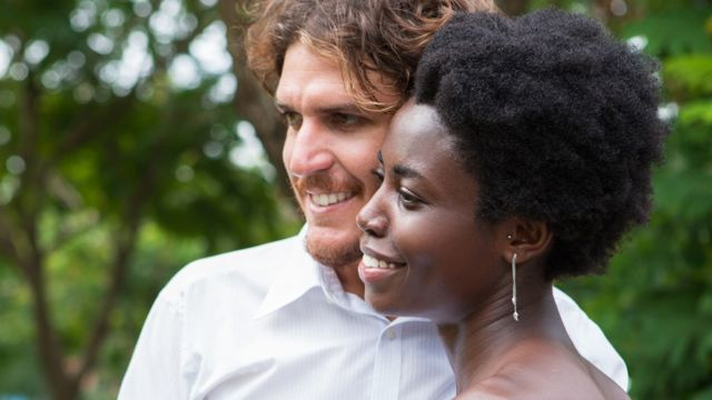 Mixed sex couple