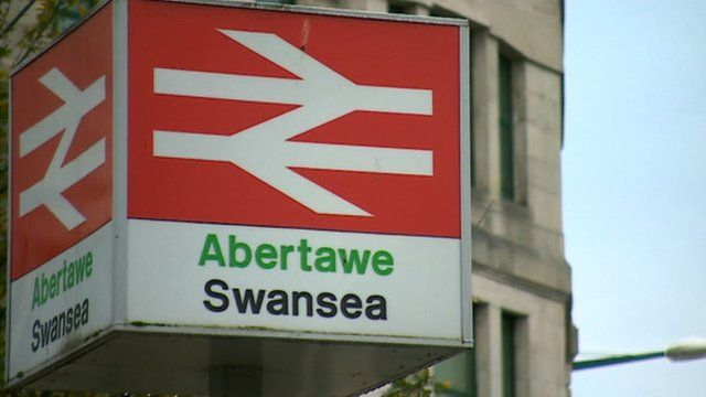 Swansea train station
