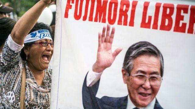 Simpatizante de Fujimori