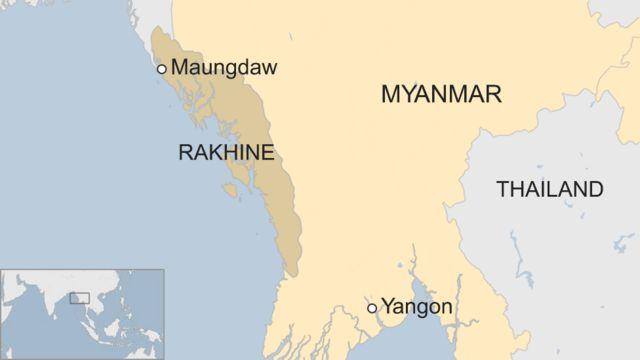 Peta Rakhine