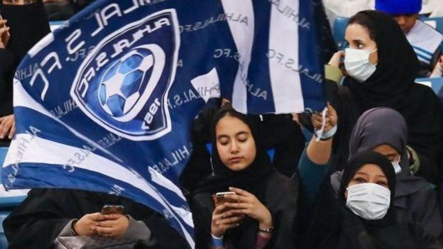 ผู้หญิงซาอุดีอาระเบียได้รับอนุญาตให้เข้าชมการแข่งขันฟุตบอลในสนามกีฬาได้เมื่อเดือนที่แล้ว