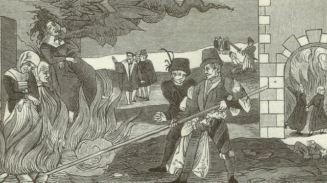 Ilustração de bruxas