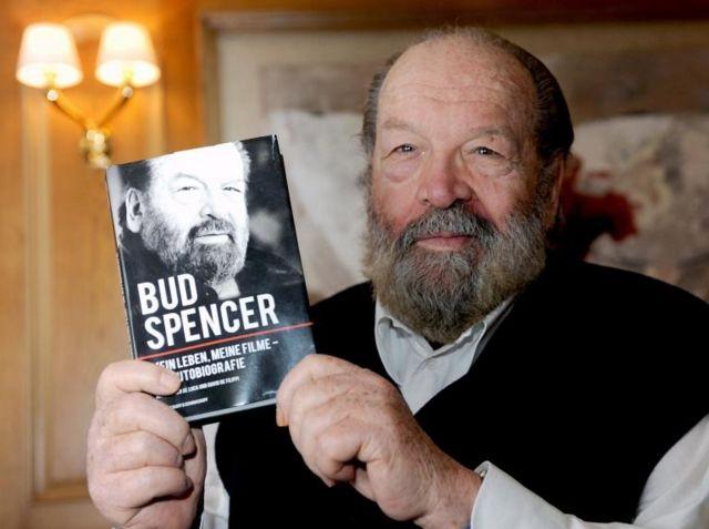Bud Spencer publicó su autobiografía en 2011.