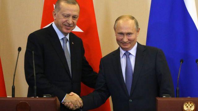 Ердоган та Путін