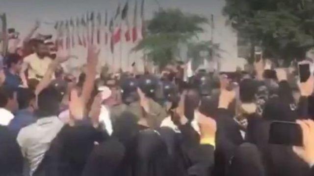 ایراناعترض مردم اهواز