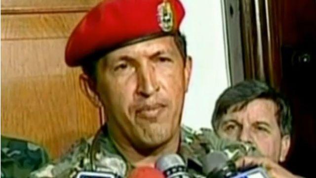 Chávez reconhece ao vivo na TV que sua tentativa de golpe de Estado, em 1992, falhou