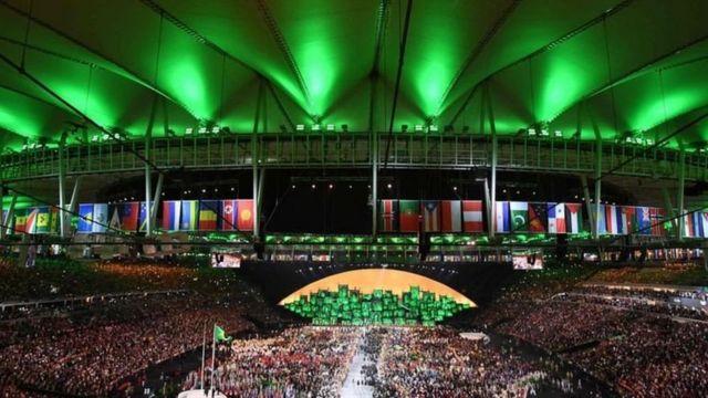 Abertura da Rio 2016