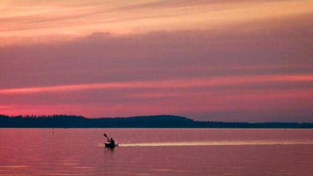 С такой природой, как в Финляндии, трудно не почувствовать себя счастливым