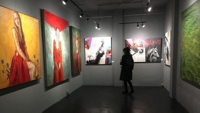 نمایشگاه کاما در لندن
