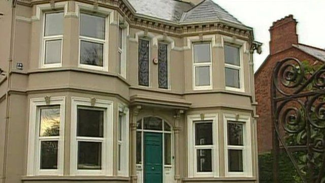 The former Kincora Boy's Home in Belfast