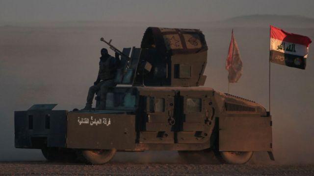 Иракские войска с марта 2016 года ведут наступление на Мосул
