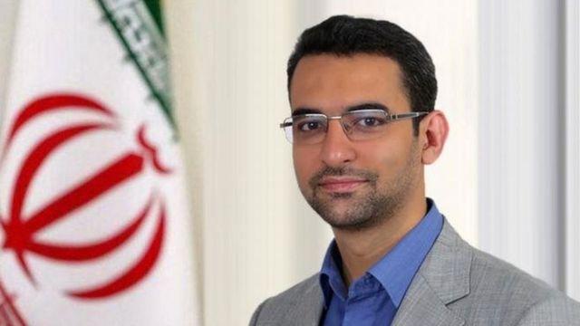 محمود آذری جهرمی وزیر ارتباطات ایران