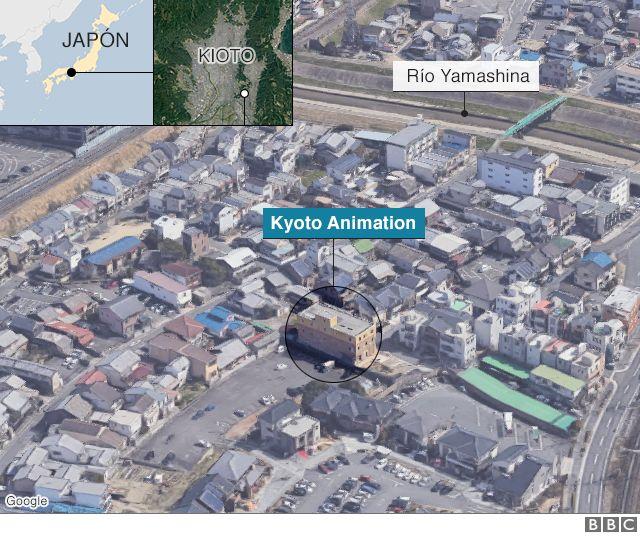 Mapa de Kioto