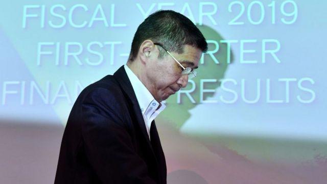El presidente de Nissan, Hiroto Saikawa