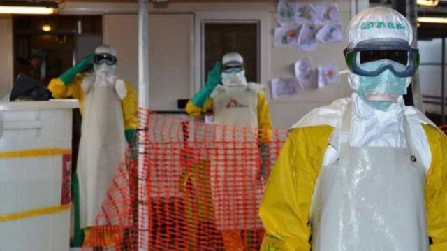 Ingwara ya Ebola yahitanye abantu 11,000 muri Liberia, Sierra Leone na Guinee, hagati y'imyaka ya 2014-2015.