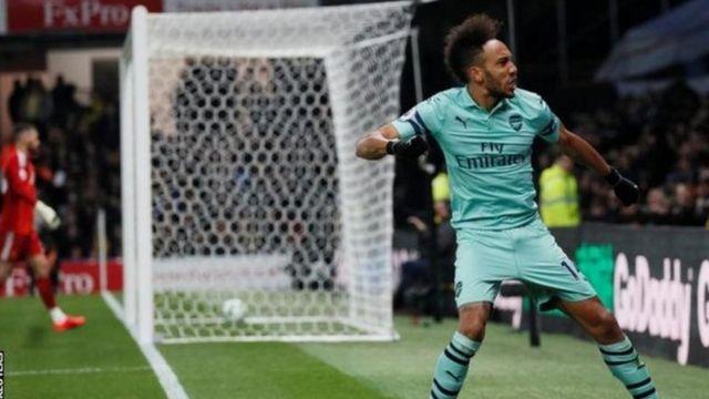 Mshambuliaji wa Arsenal Pierre-Emerik Aubameyang