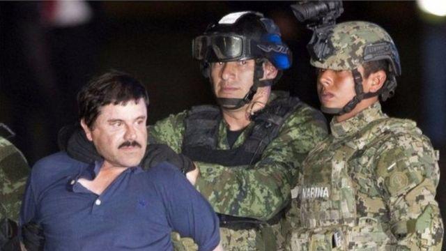 Igihe El Chapo Guzman yahagarikwa n'igipolisi