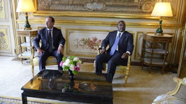 François Hollande et Joseph Kabila