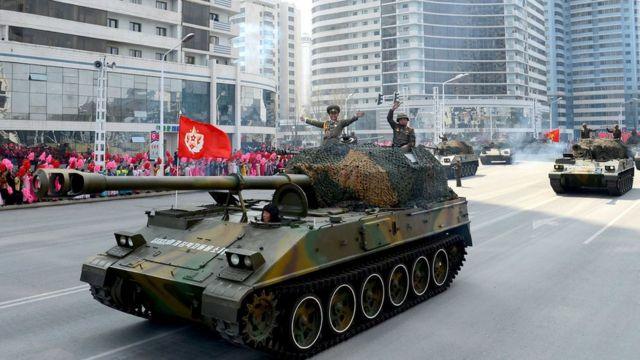 उत्तर कोरिया की सैन्य ताक़त