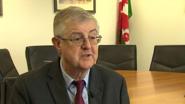 Brexit: Force new EU poll on next PM, says Mark Drakeford
