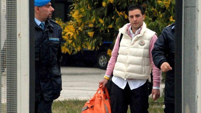 2016年に刑務所を出たジュゼッペ・サルバトーレ・リーナ氏