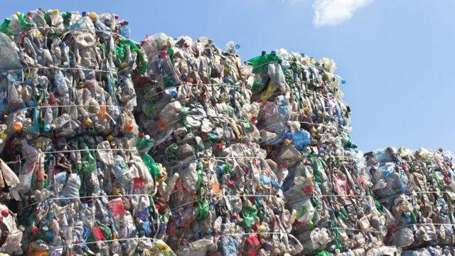 Cina, plastik