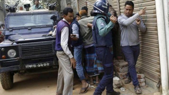 बांग्लादेशी आत्मघाती महिला