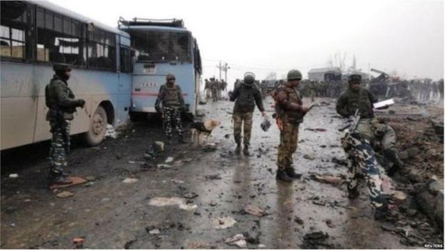 पुलवामा हमला, कश्मीर