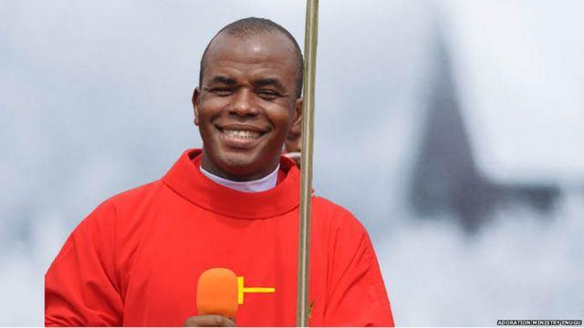 "Father Mbaka 'you go fail' video to Peter Obi surprise us"" - Catholic  Church - BBC News Pidgin"