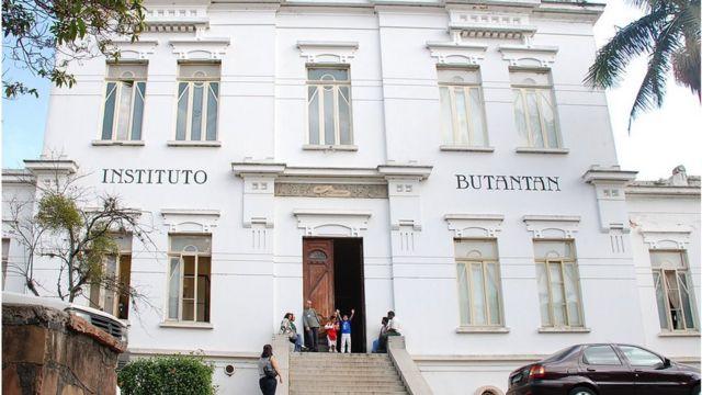 Sede do instituto Butantan, em São Paulo