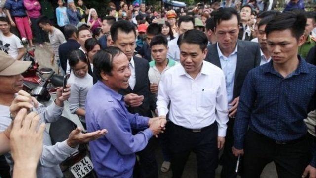 Chủ tịch Hà Nội Nguyễn Đức Chung về Đồng Tâm cuối tháng 4/2017