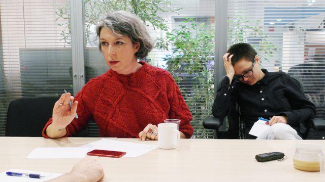 Анна Наринская и Ирина Ролдугина