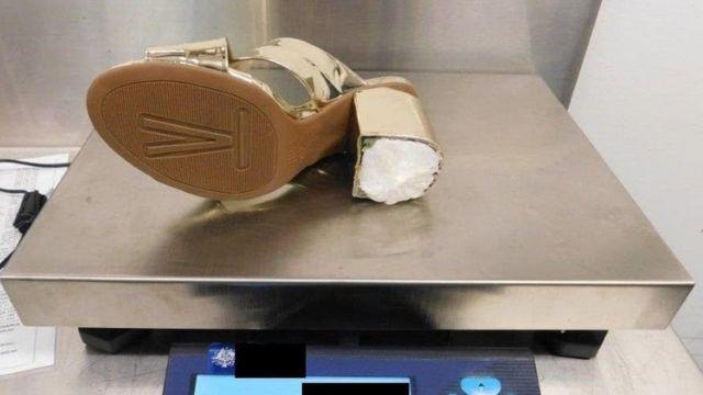 Взуття з наркотиками