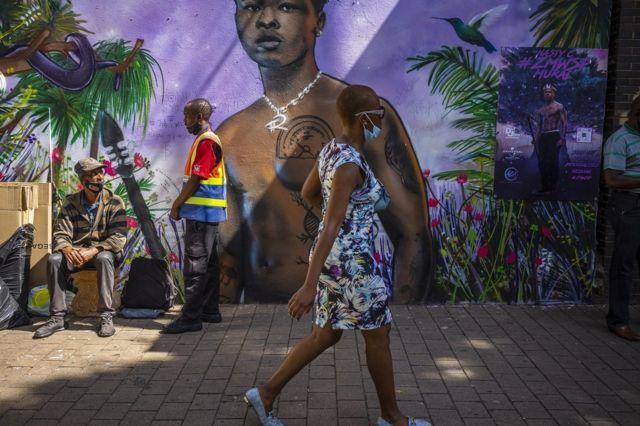 Graffiti en Sudáfrica