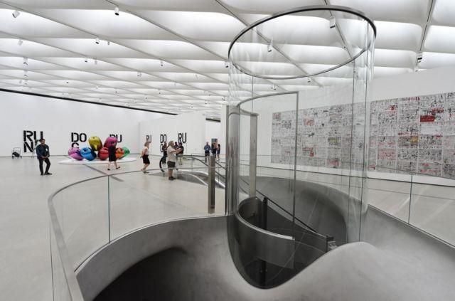 Музей The Broad в Лос-Анджелесе