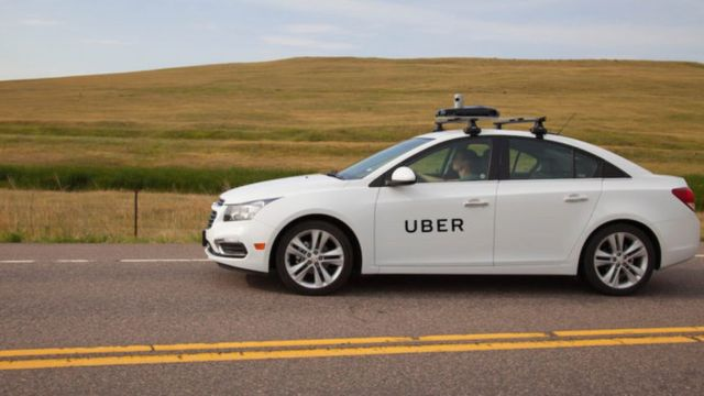 Uber starts mapping UK city streets