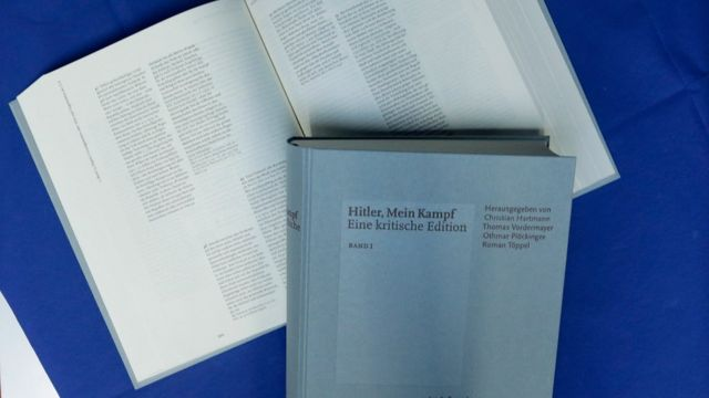 """""""Edição crítica"""" do Mein Kampf"""