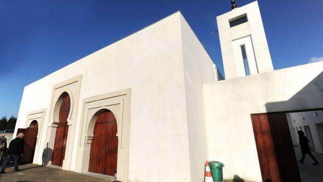 Мечеть в городе Байонна