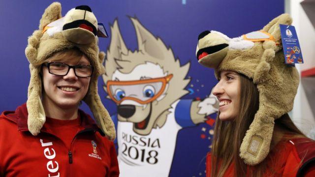Официальный символ ЧМ-2018 - волк Забивака