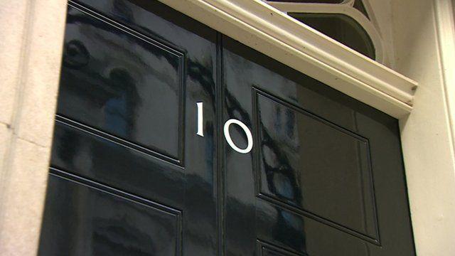 The door of Number 10