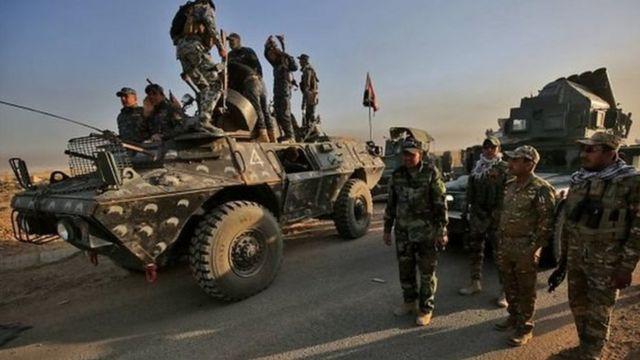Dakarun sojin Iraqi
